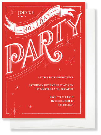 Holiday Diffusion Invite