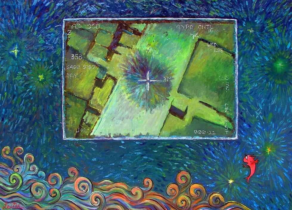 Fallujah Dream   Oil Painting   Nan Leiter   Artist, Painter