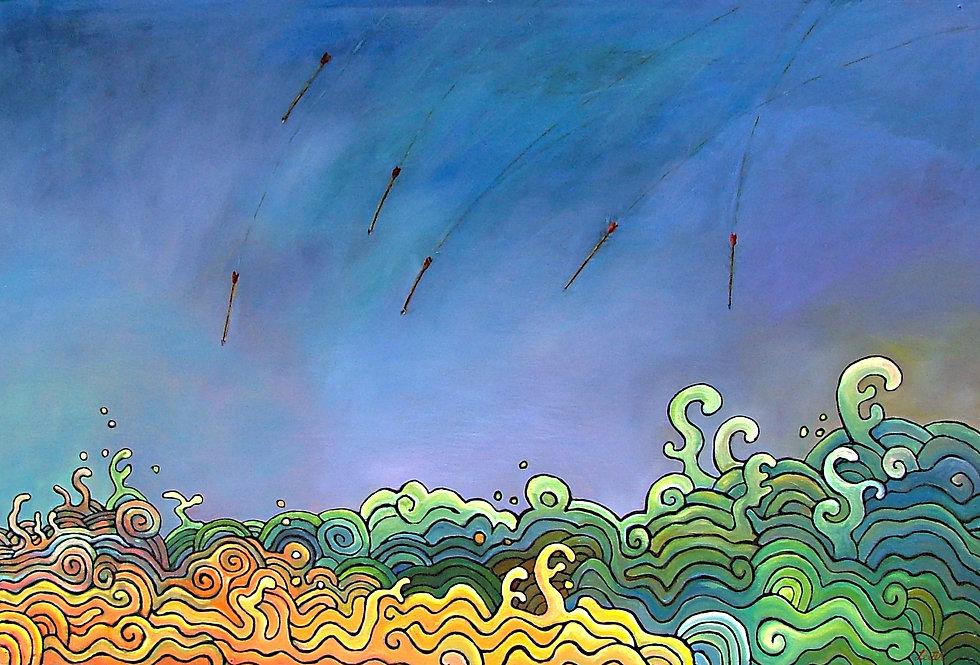 Seven Arrows for Danny | Oil Painting | Nan Leiter | Artist, Painter