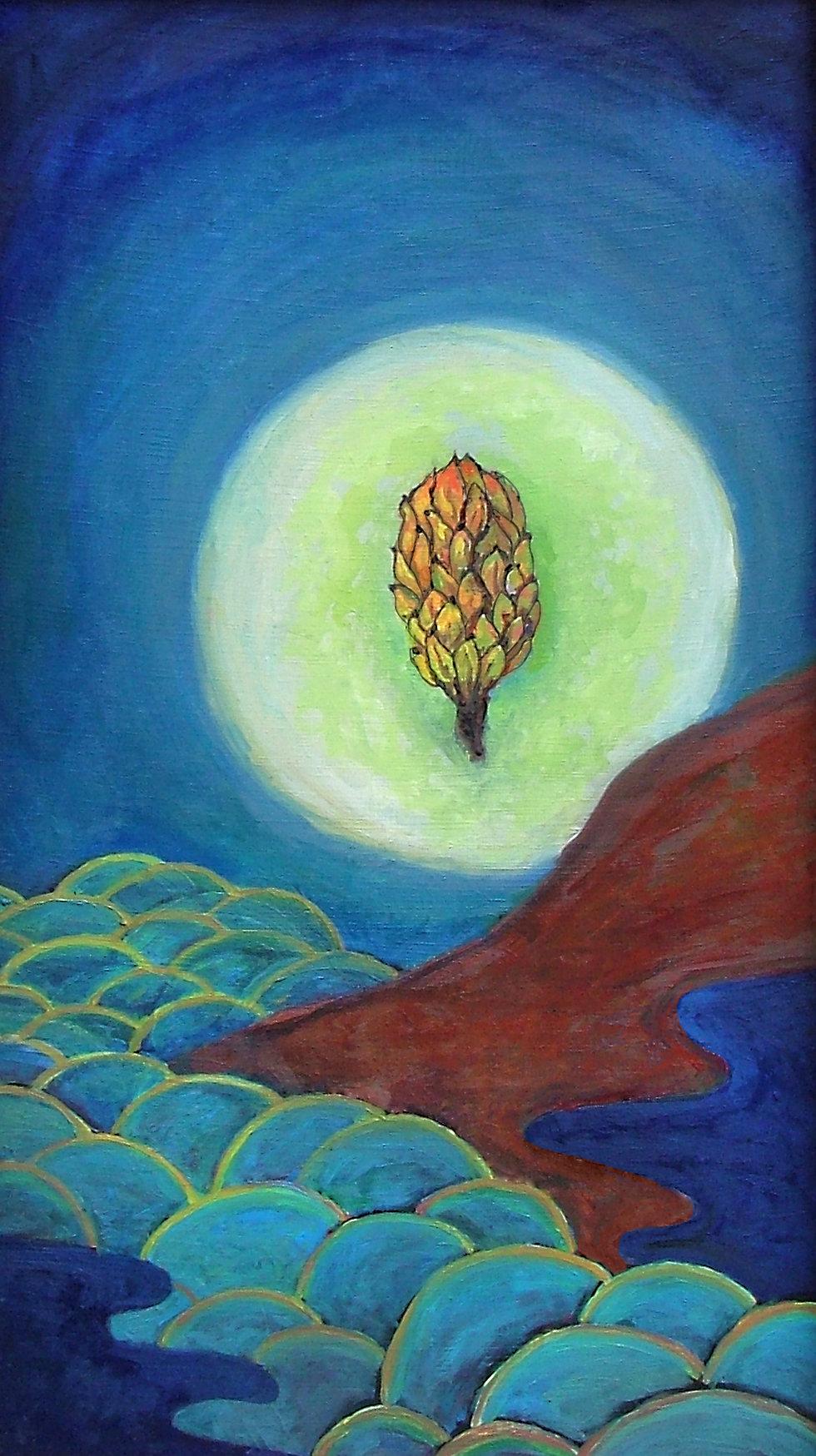 Magnolia Rising | Oil Painting | Nan Leiter | Artist, Painter