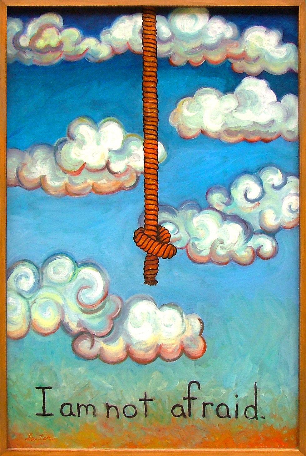 I am not Afraid | Oil Painting | Nan Leiter | Artist, Painter