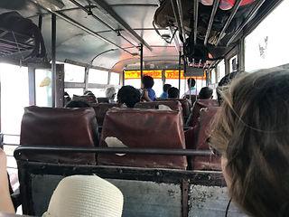 Bus von Sonauli nach Gorakhpur
