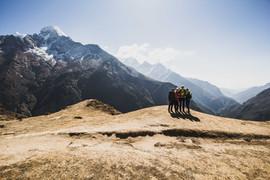 Blick ins Tal von Phakding