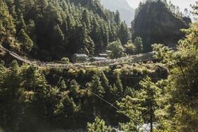 Brücke in Phakding