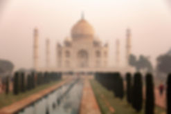 Taj Mahal, Agra, Taj Maha Agra, Taj Maha Morgengrauen