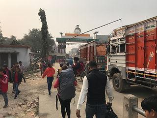 Grenübergang Sonauli Nepal - Indien
