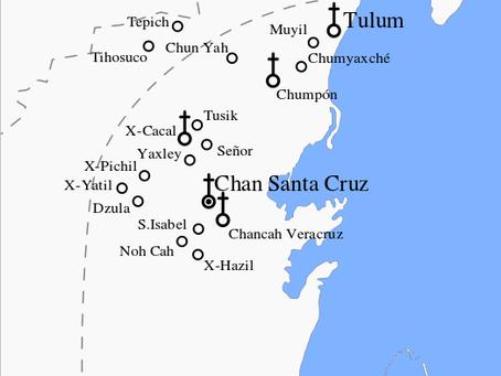 ¿Sabias que Bacalar estuvo bajo dominio Maya hasta 1901?