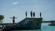 El Restaurante Abandonado del Canal de los Piratas y sus Murales