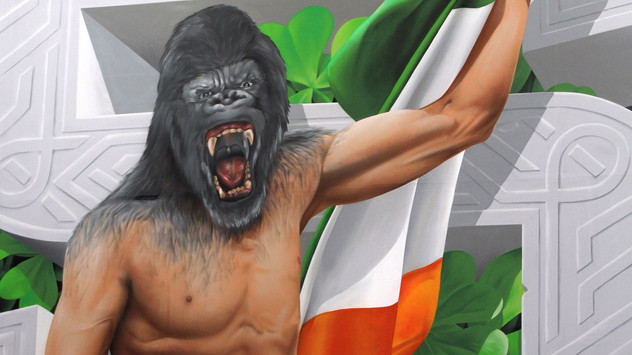 SBG Gym in Dublin, Ireland - Conor McGregor and Add More Colors
