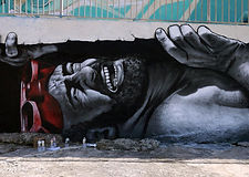 Beautiful street art by MTO i Malta