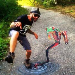 Tony Cuboliquido frog