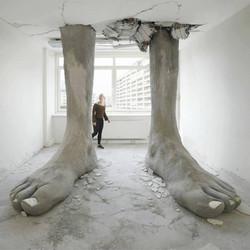 Feet installation By Mario Mankey