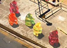 Leon Keer 3D artwork Gummy Bears Malta Add More Colors
