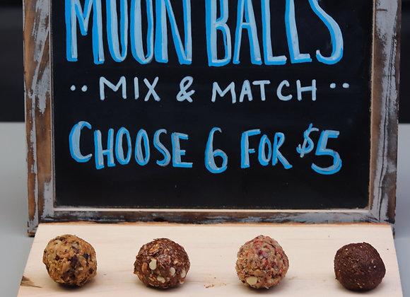 Nutella Moon Balls
