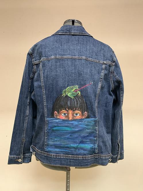 """The Feast"" denim jacket"