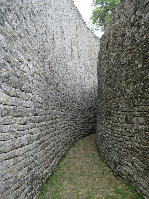 Path in Great Zimbabwe