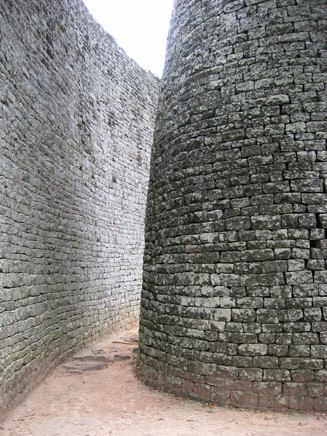 Curved Wall in Great Zimbabwe