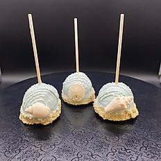 Sea Shell White Cake Pops