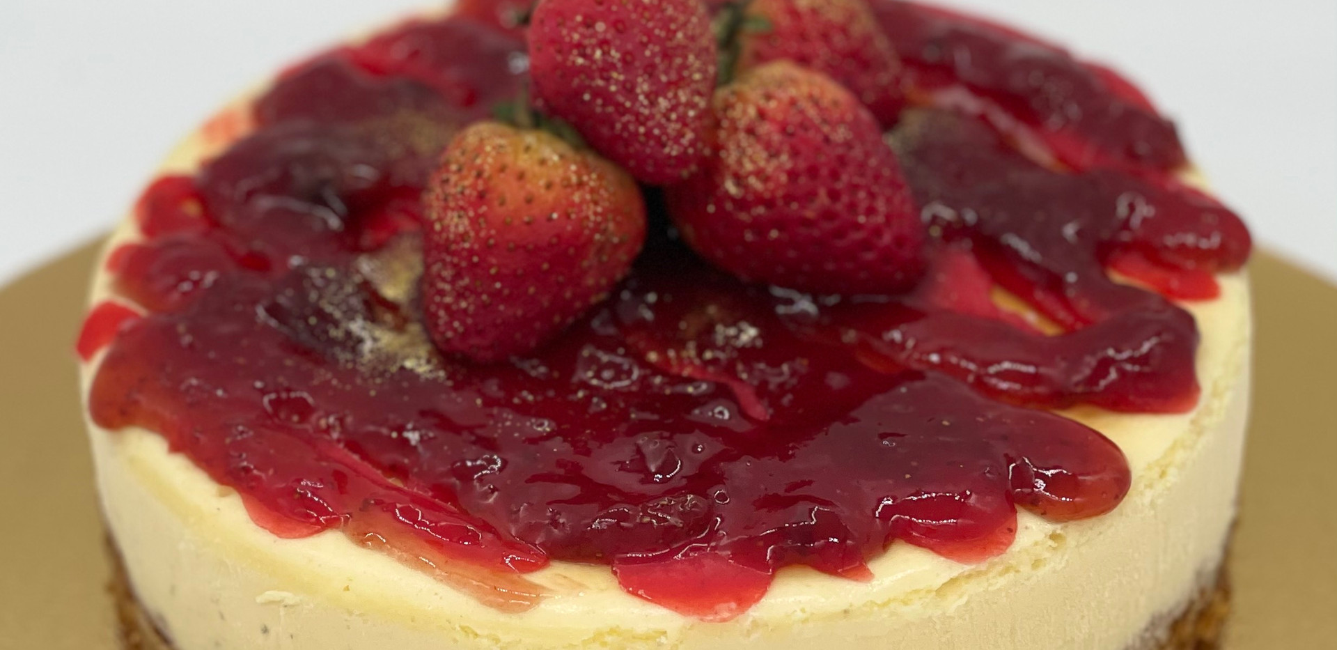 Strawbery Topping Cheesecake