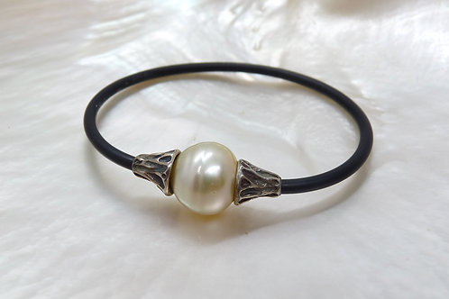 Sterling Silver Gold Pearl NEO