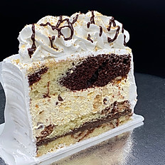 Cake Slice of the Month S'more