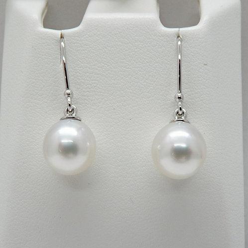9ct Gold Delicate Drop Earrings