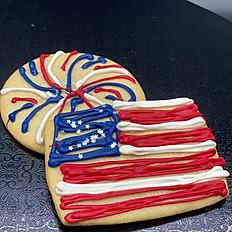 4th of July Sugar Cookie 3 Pack