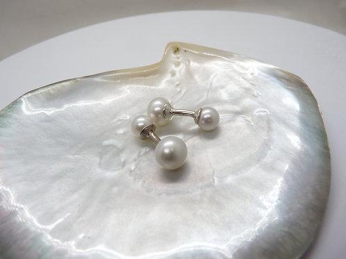Cultured Pearl Cufflinks