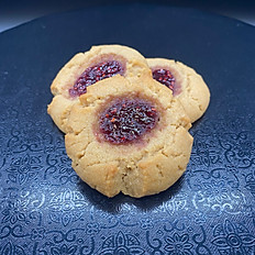 Peanut Butter & Jelly Thumbprint 3 pack