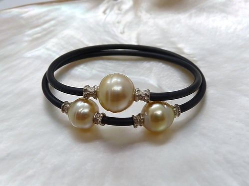 Sterling Silver & Gold Pearl NEO