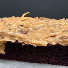 German Chocolate Bar Cake