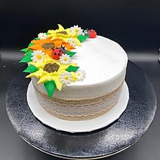 """6"""" Funfetti Cake"""