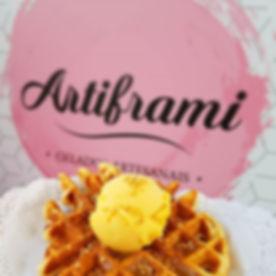#artiframigeladosartesanais #waffles #st