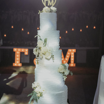 George & Maria | Wedding Cake