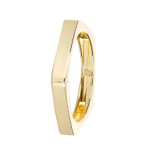 Gold or Silver Chic-est Squared Bangle