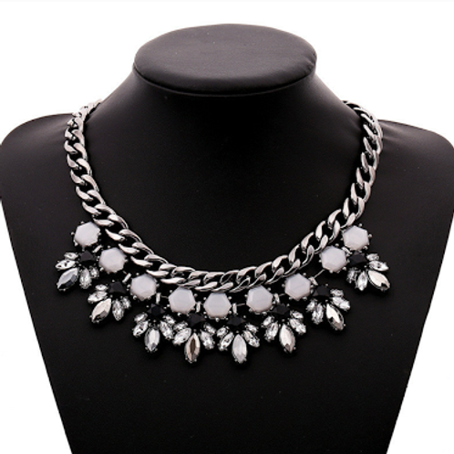 Shades of Gray Necklace