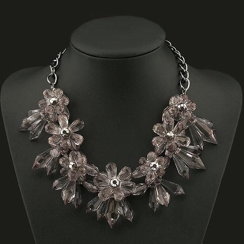 Richel's Floral Ice Necklace