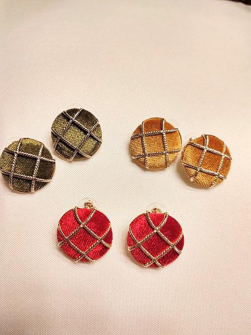 Tic Tac Fashion Stud Earrings