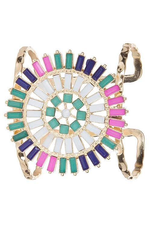 Color Party Cuff Bracelet