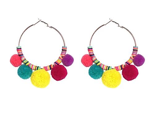 Pom Pom Parade Earrings