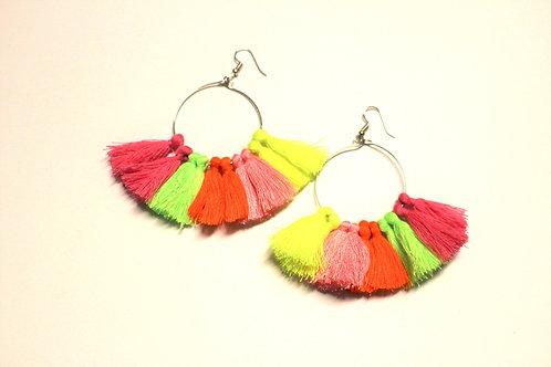 Carnival Tassel Earrings
