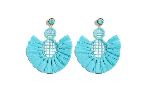 Honeycomb Statement Earrings