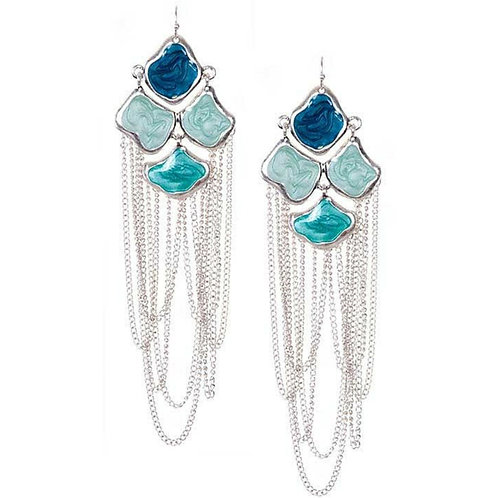 Chained Chandelier Earrings