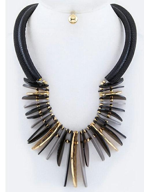Zenobia Plated Collar Set