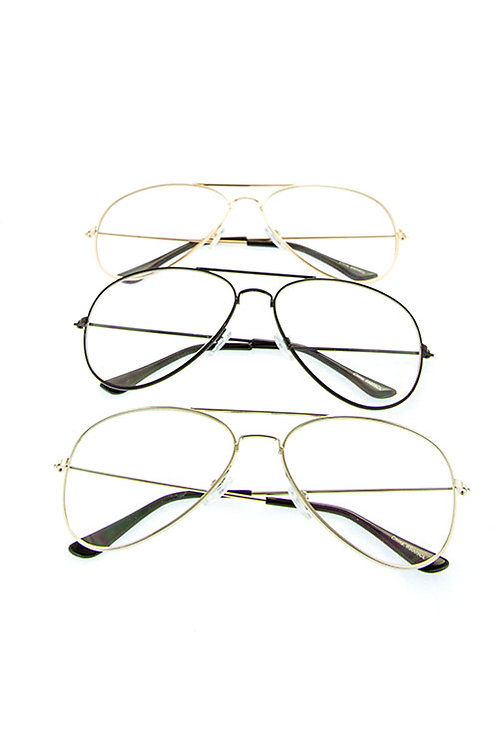 Clear Style Aviators
