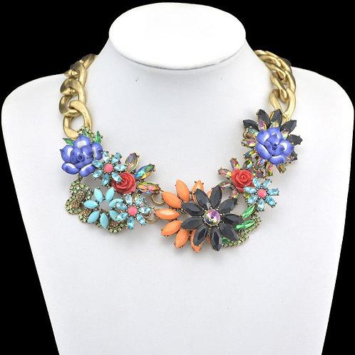 Wildflower Collar Necklace