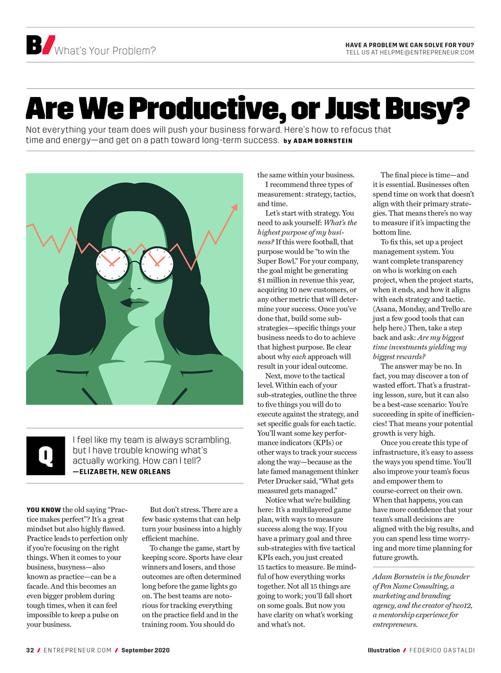 Are we productive or just busy_