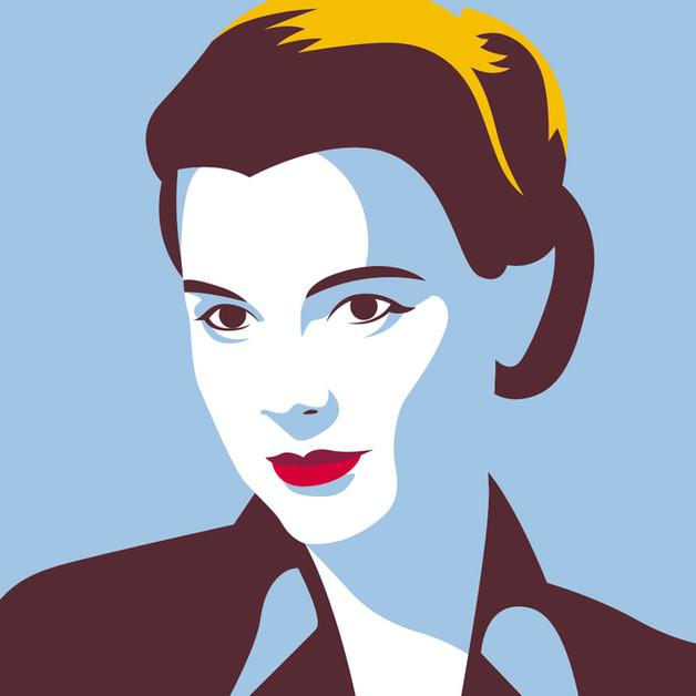 Grace Kelly Portrait