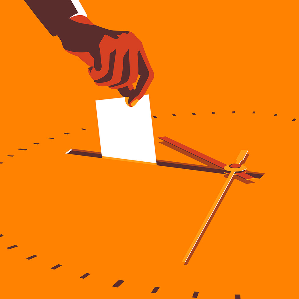Black Voters Wait Longer At The Polls