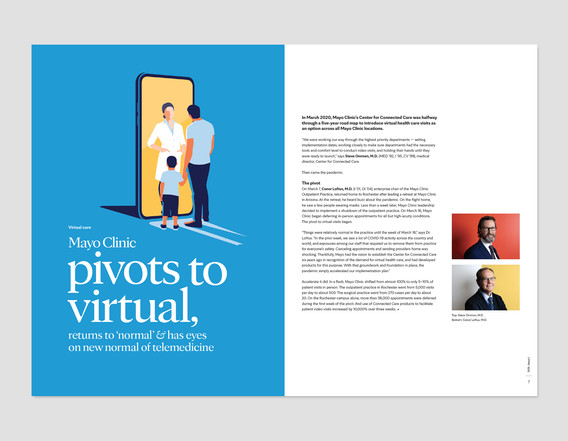 Mayo Clinic Pivots to Virtual